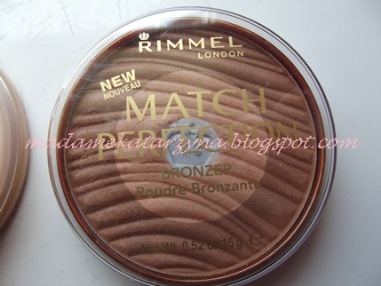Rimmel Match Perfection Bronzer♥ HIT czy KIT?