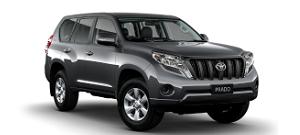 Land Cruiser Prado 2014 mau xám