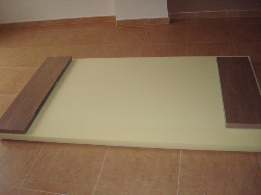 Un cabecero para mi sommier bricolaje - Como hacer cabecero tapizado ...