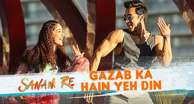 Gazab Ka Hain Yeh Din Amaal Mallik, Arijit Singh Guitar CHORDS + STRUMMING Pattern, Hindi song from the movie SANAM RE