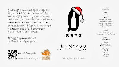 Etiket til Juløbryg, Ø-Bryg