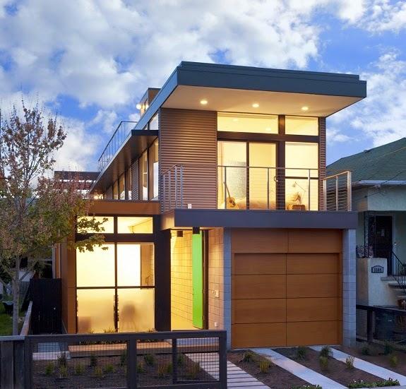 fachadas de casas minimalistas pequeas - Casas Minimalistas