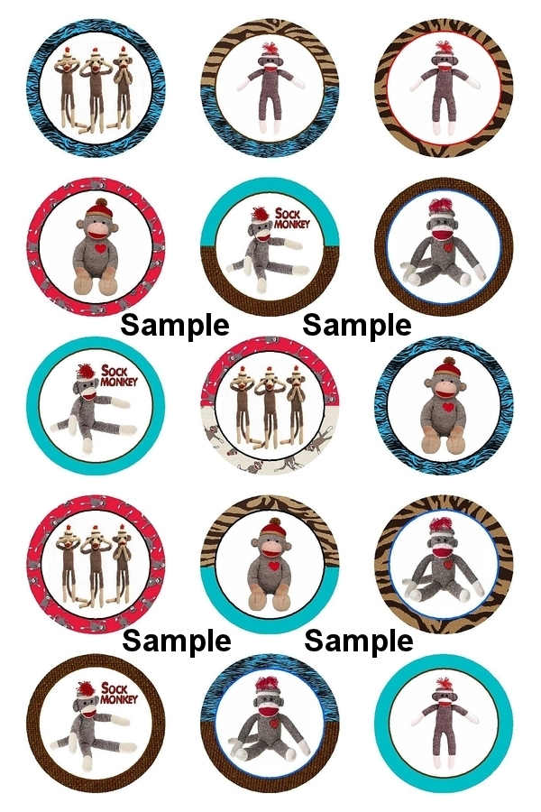Sock Monkey Cartoon Sock monkey