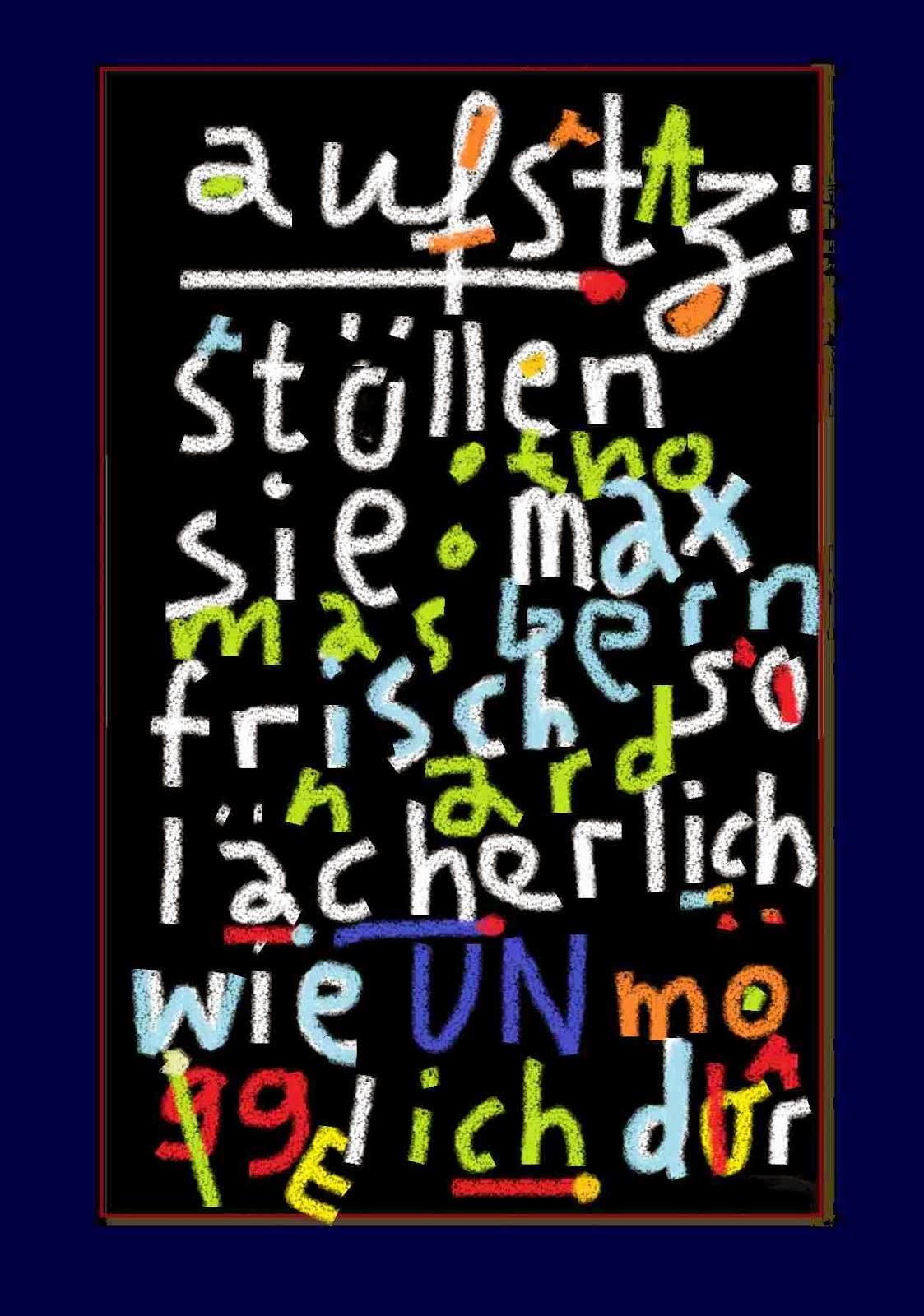 rufmorD volks- UNd völkerverhetzUNg THOMAS BERNHARD MAX FRISCH unseld suhrkamp LUDWIG HOHL vetere