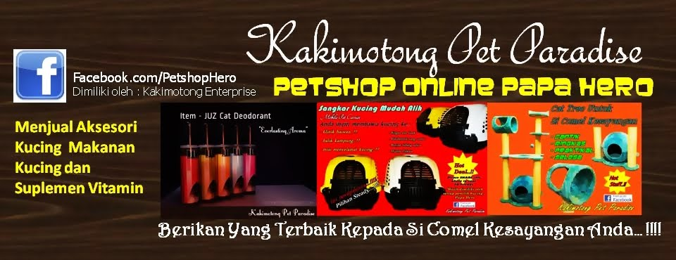 Petshop Online Papa Hero