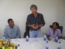 COMISION DE LA ALCALDIA DE GUADALUPE FIRMA CONVENIO DE COOPERACION CON ALCALDE DE SAN GREGORIO DE NIGUA