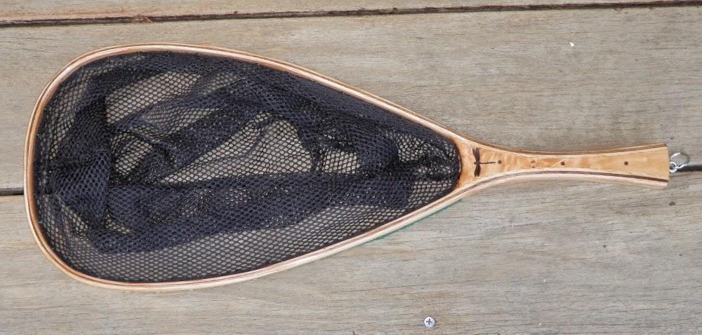 J wood fly fishing net 61 giveaway for Wooden fishing net