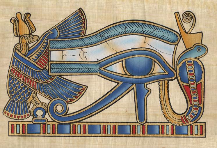 Gi thibault sorci re de coeur l 39 oeil de tout nkhamon - Oeil d horus tatouage ...
