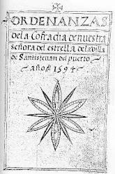 Ordenanzas Santa María de la Estrella de Las Navas 1594