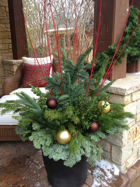 Designing Home Creating Natural Arrangements For Christmas