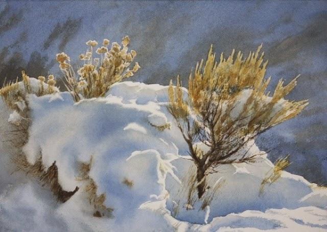 Американский художник-акварелист. Robert McFarland