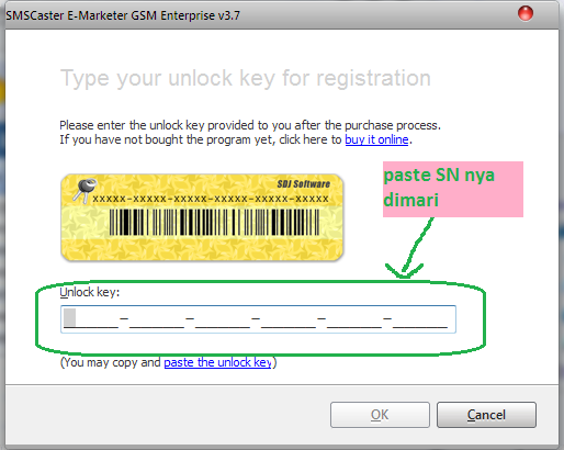 how to use sms caster software