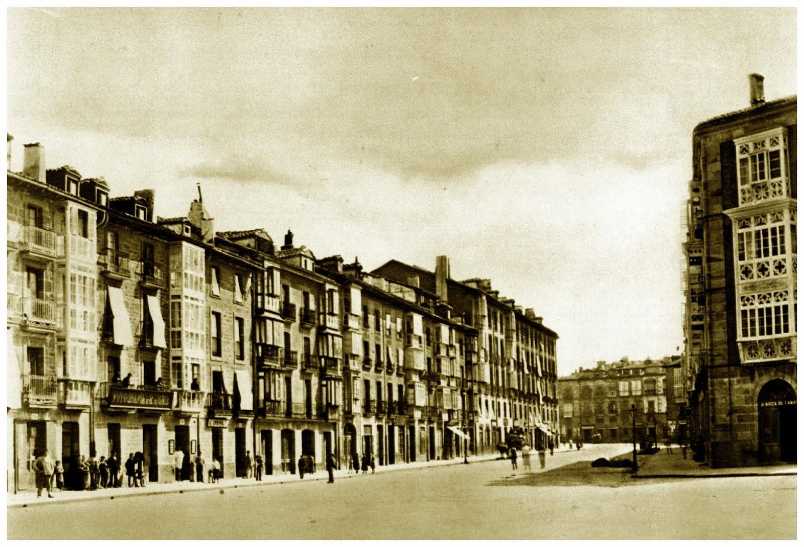 calle prado en 1880 vitoria en fotos