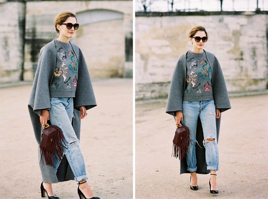 Vanessa Jackman: Paris Fashion Week AW 2014.Sofia
