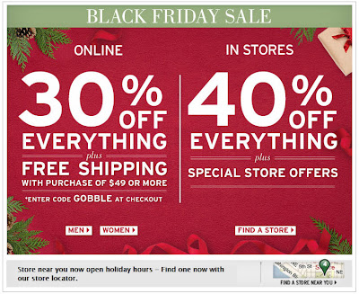 Click to view this Nov. 25, 2011 Eddie Bauer email full-sized