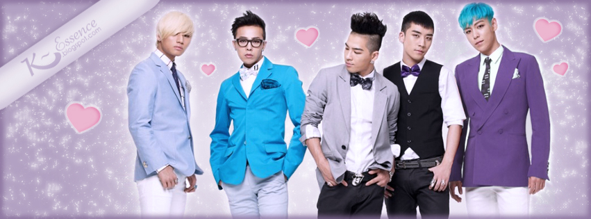 Big Bang Kpop Facebook Covers