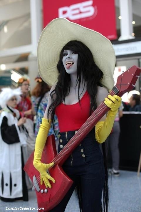 Korra Costume Marceline de Hora de A...