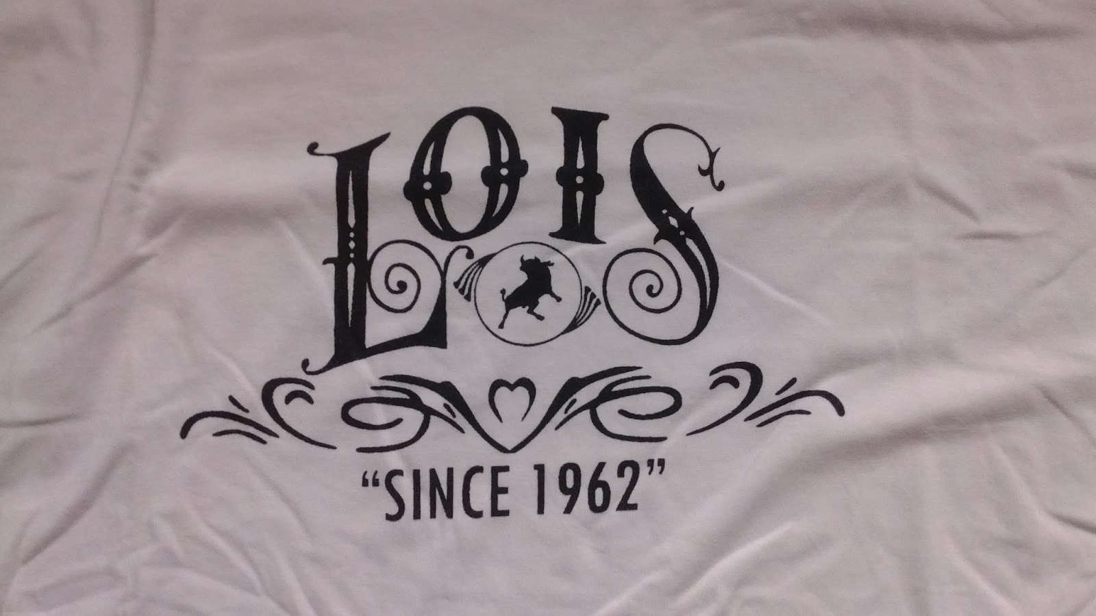 Jeans By Example Used Lois White T Shirt