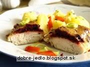 Zapekaná ryba s cviklou - recept