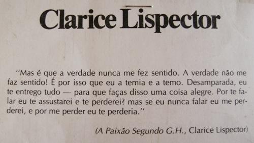 Relatos De Uma Mulher Moderna Frases De Clarice Lispector
