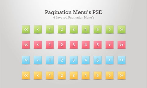 Pagination Menus
