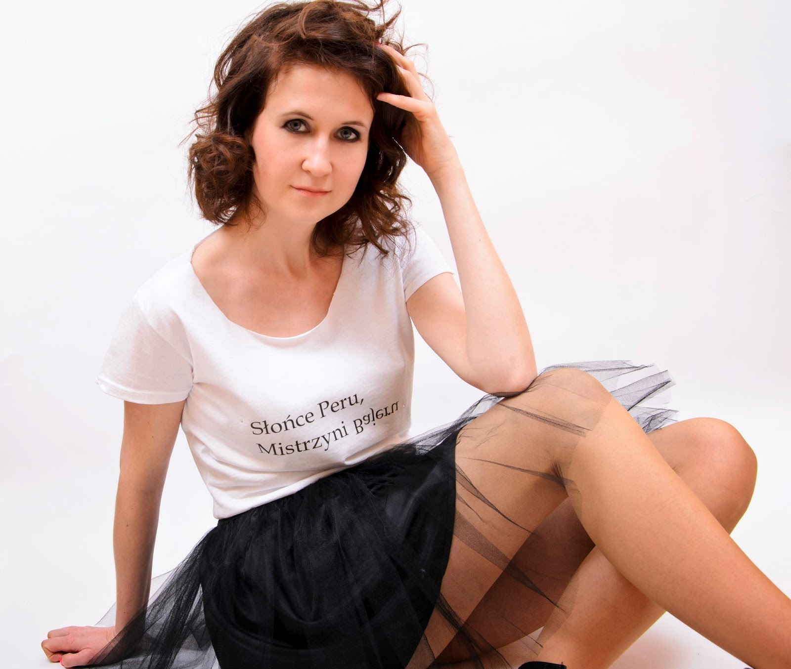 t-shirt z nadrukiem Isa Flower