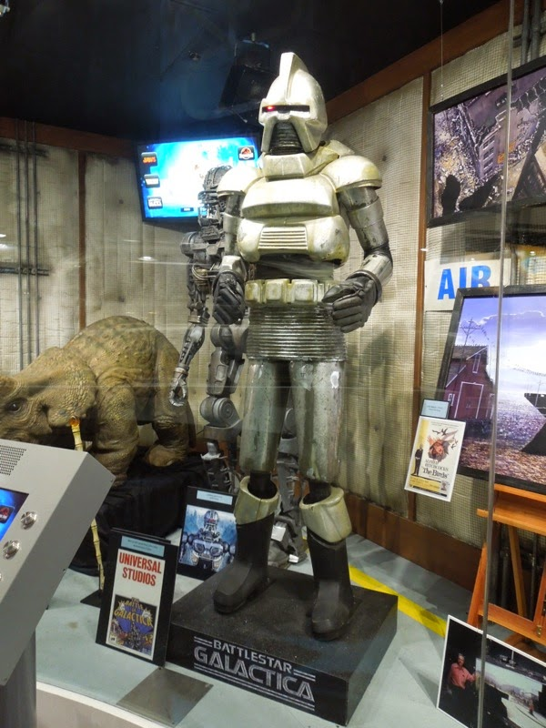 Battle of Galactica animatronic Cylon Universal Studios Hollywood