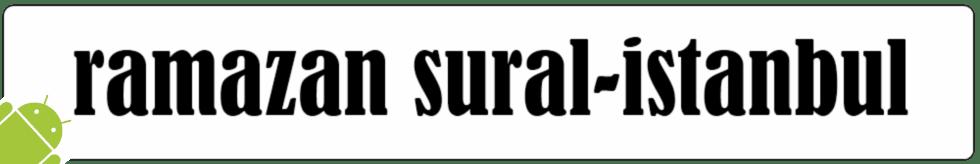 """""""Ramazan SURAL""""  - Elektronik Günlüğüm"""