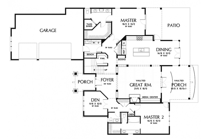 Awesome Home Design With Plans American Bungalow House Plan