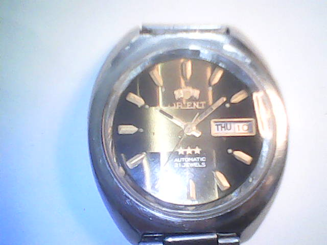 ebd61841ae7 Relógio Orient automático.