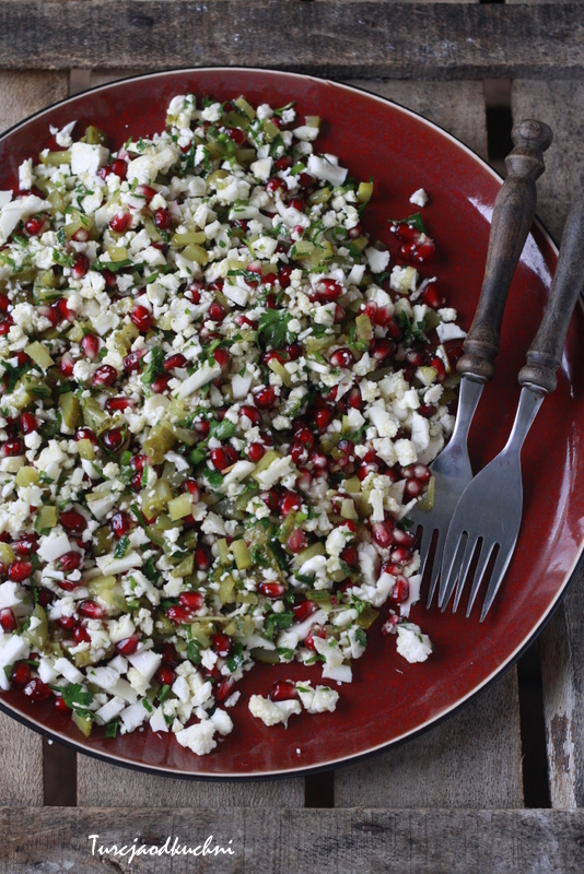 Sałatka z kalafiorem / karnabahar salatasi