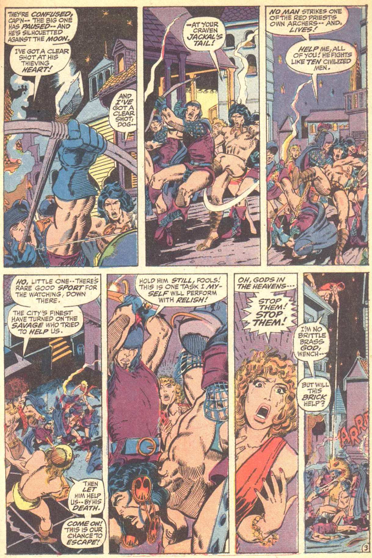 Conan the Barbarian (1970) Issue #10 #22 - English 4