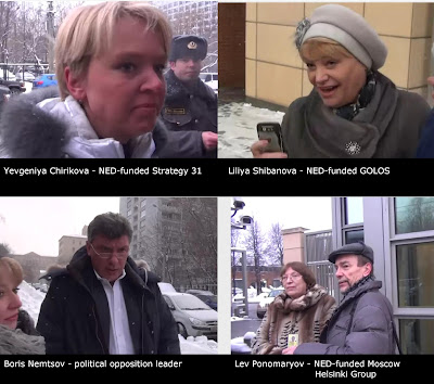 Unbelievable: Russian Oppositions Confab At US Embassy  USEmbassyMoscowJan2012Confab