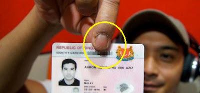 Aaron Aziz Sah Taraf Penduduk Tetap Malaysia