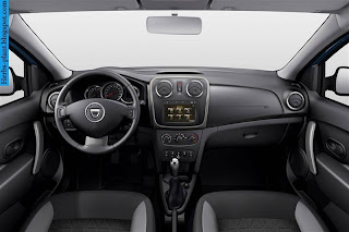 Renault sandero car 2013 interior - صور سيارة رينو سانديرو 2013 من الداخل