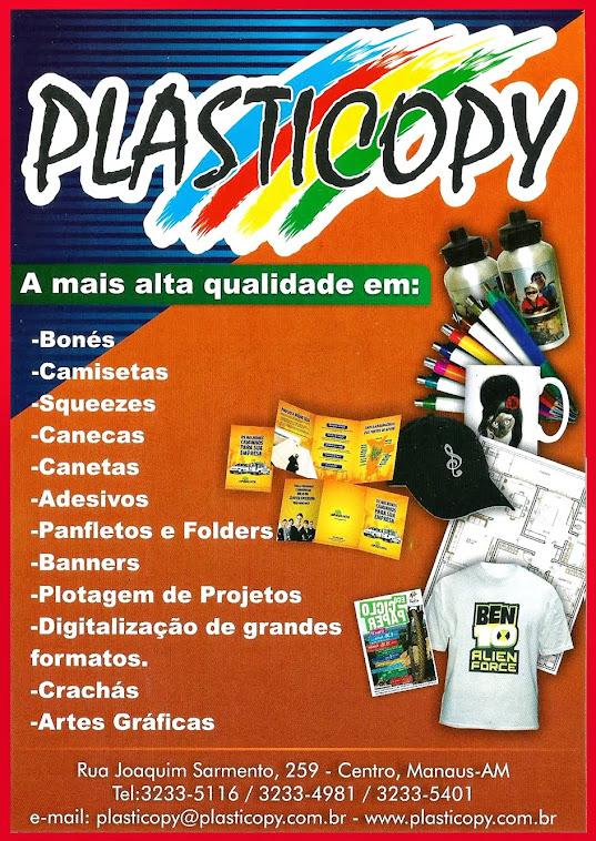 APOIO CULTURAL: PLASTICOPY