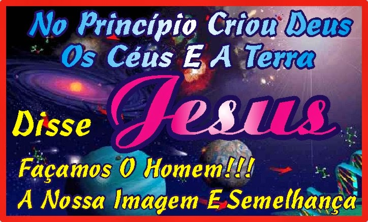 No Princípio Criou Deus Os Céus e A Terra