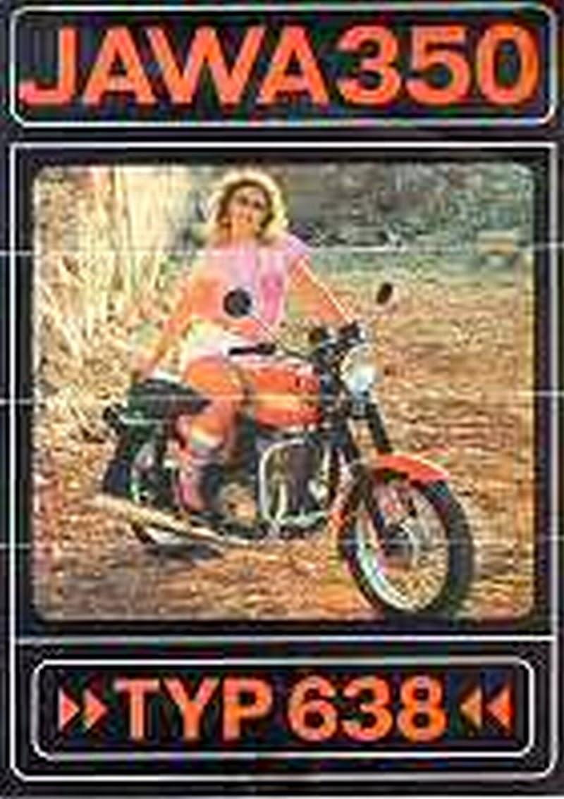 Plakat z Jawą 350
