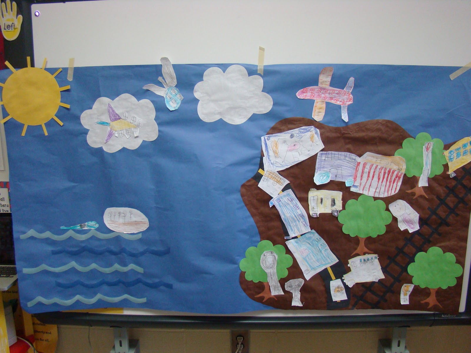 Mrs bearden 39 s 2nd grade class transportation fun with a for Extra mural classes
