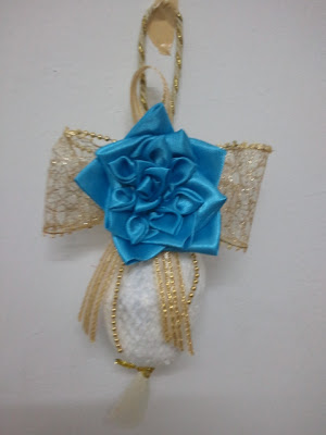 bunga telur, rose, kanzashi, wedding door gift, murah, hair accessories