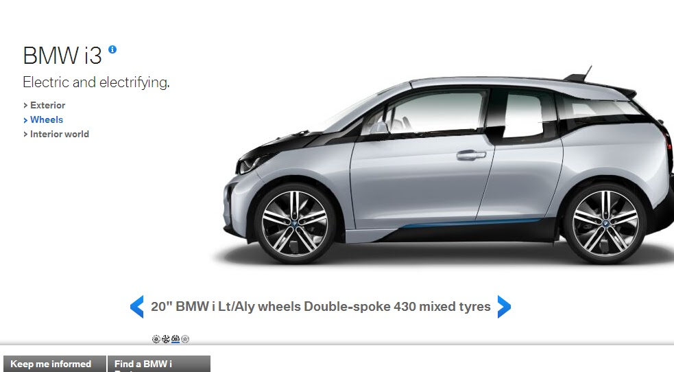 Bmw i3 Visualizer Goes Live