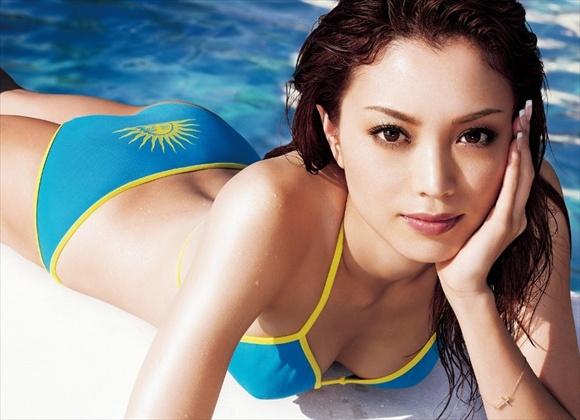 beautiful Japanese slim girl