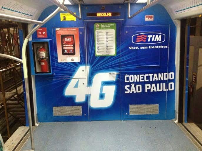 Malagueta Criativa assina criação da TIM para o trem da CPTM