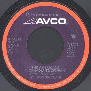 Image result for gordon sinclair 1973