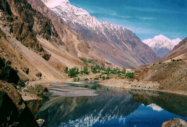 Khalti Lake, Ghizer, Gilgit Baltistan -Pakistan