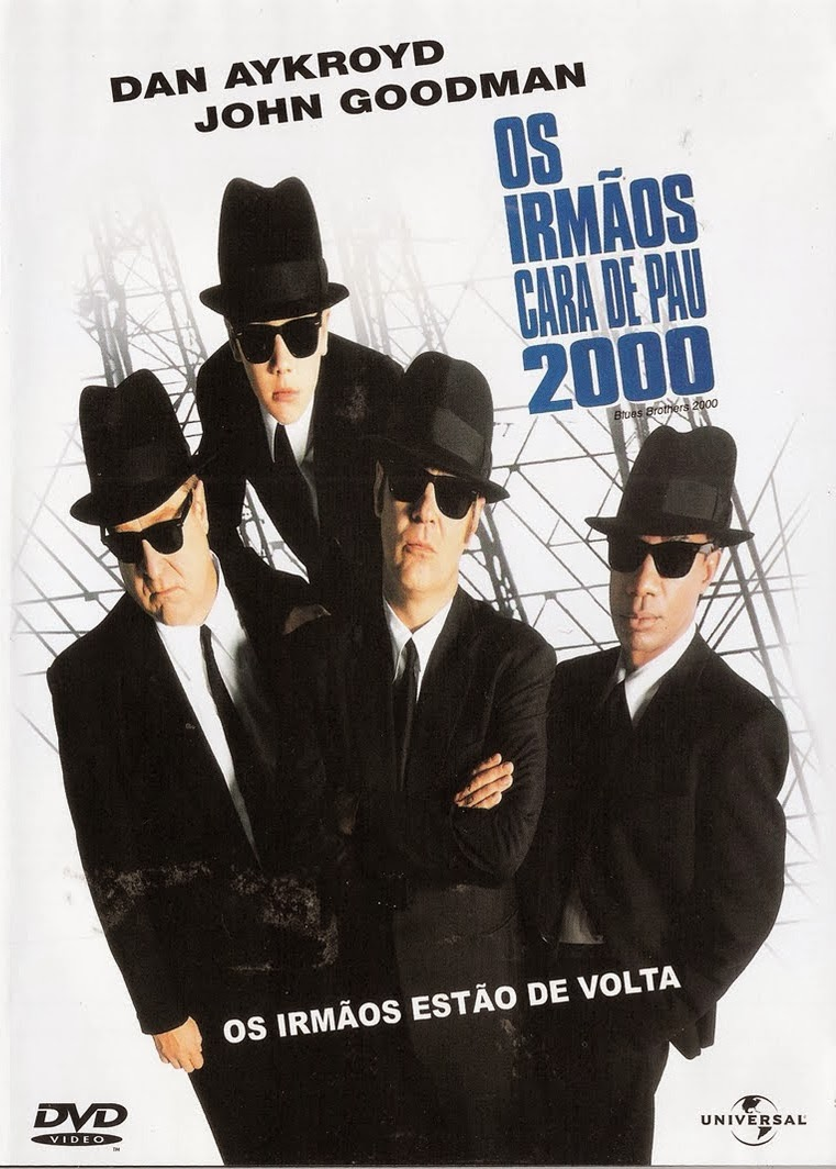 Os Irmãos Cara-de-Pau 2000 – Dublado (1998)