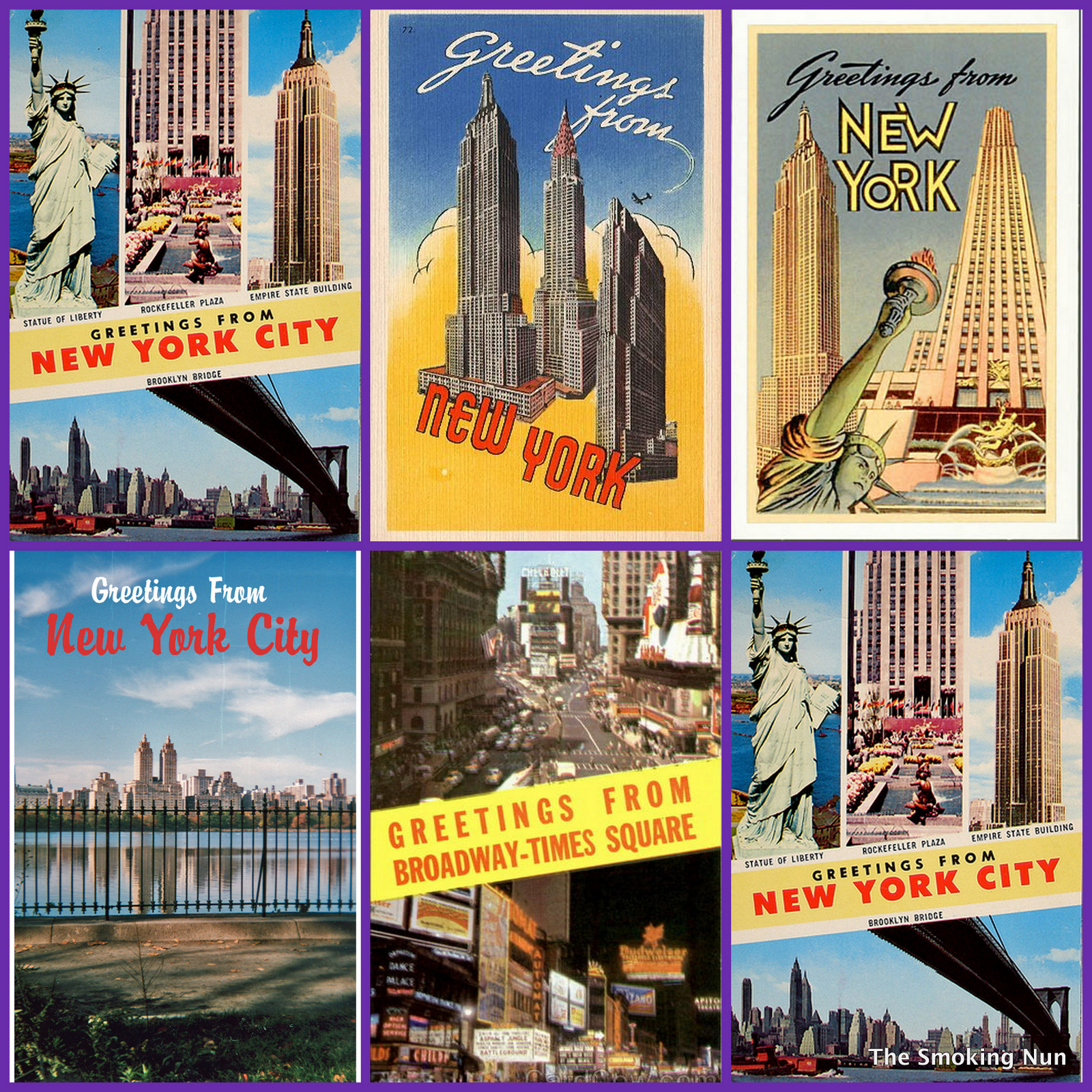 Nyc Vintage Nyc Vintage Image Of The Day Greetings From New York