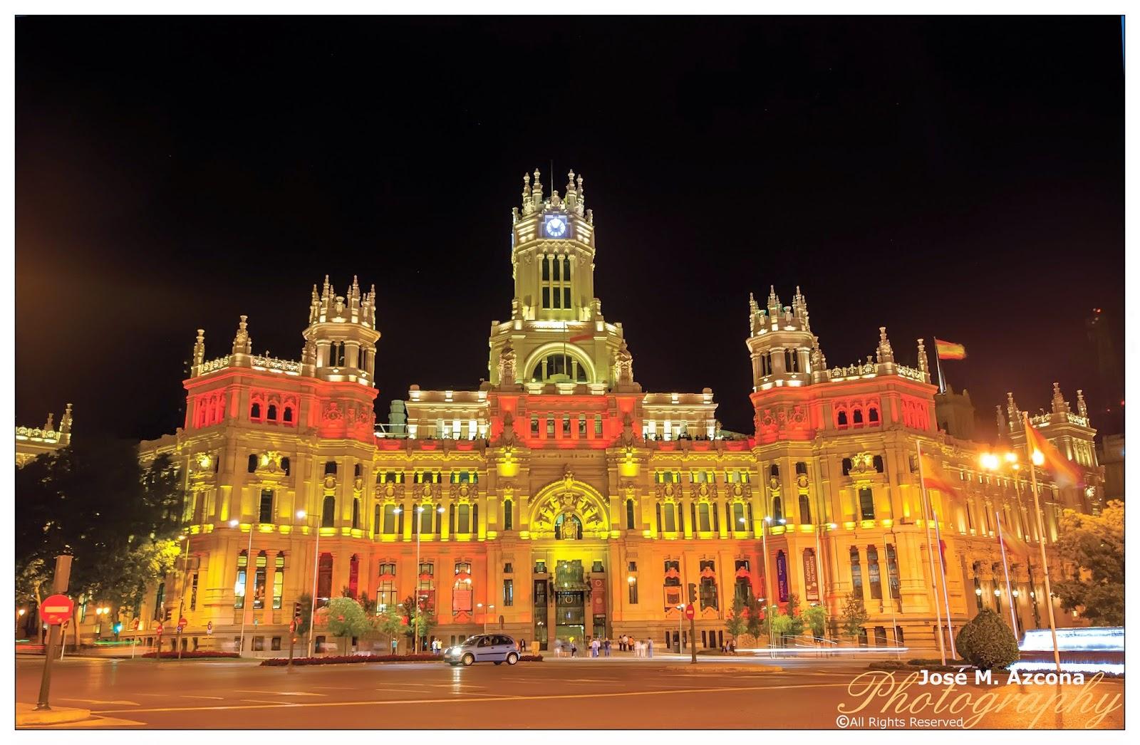 Palacio de Comunicaciones (actual Ayuntamiento de Madrid).