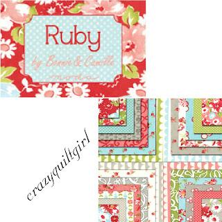 Moda RUBY Fabric by Bonnie & Camille