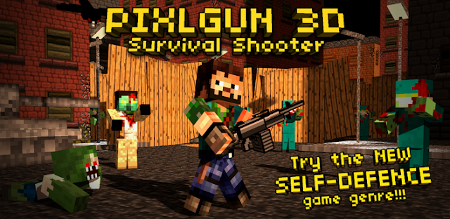 Pixlgun 3D Survival Shooter V2.8 Apk Full Direct Link